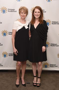 Jane Pauley Photos Photos - CBS Sunday Morning correspondent Jane Pauley and actress Julianne Moore attend the Childrens Health Fund Annual Gala at Jazz at Lincoln Center on June 1, 2015 in New York City. - Children's Health Fund Annual Gala at Jazz at Lincoln Center - Pre Show