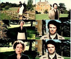 """""""Miss Bennet!""""  """"Vim saber de minha irmã.""""  """"A pé?""""  """"Como pode ver..."""""""