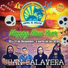 30 y 31 de Diciembre nos vemos en @hoteleldelfinmonterrico junto a @djmanny502 #sacudetushuesos #happynewyear