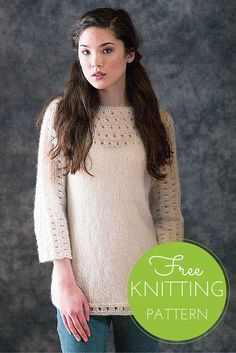 Pacific Pullover Free Knitting Pattern
