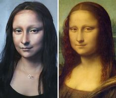 There is a reason why they are called makeup artists. If you ever doubted the artistic value of makeup before, Chinese vlogger He Yuhong will change your mind with her stunning recreations of historic works, and oh yeah, Taylor Swift too. Johannes Vermeer, Charlie Chaplin, Johnny Depp, Best Lengthening Mascara, Dark Circles Around Eyes, Chinese Makeup, Mona Lisa, Curling Mascara, Star Beauty