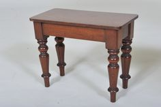 Small 19th century Mahogany Stool