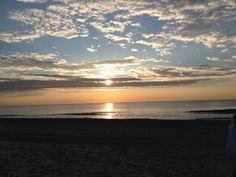 Sunrise at Ocean City.