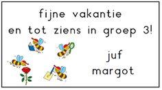 Juf Margot: Klassenmanagement - Welkomstkaartje voor de nieuwe...