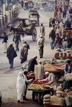 Peshawar. 1984. The Qissa Khawani Bazaar.