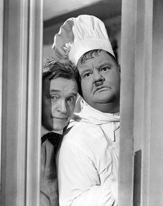 Stan Laurel and Oliver Hardy photo for Nothing but Trouble Laurel And Hardy, Stan Laurel Oliver Hardy, Great Comedies, Classic Comedies, Classic Movies, Comedy Actors, Comedy Duos, Actors & Actresses, Classic Hollywood