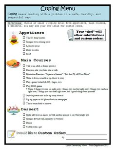 Anxiety Coping Skills For Kids Worksheet: Coping Skills Worksheets coping skills worksheets for adults due , Coping Skills Worksheets, Therapy Worksheets, Therapy Activities, Free Worksheets, Social Work Worksheets, Emotions Activities, Health Activities, Elementary School Counseling, School Social Work