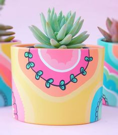 Pin on gardening Pin on gardening Painted Plant Pots, Painted Flower Pots, Decorated Flower Pots, Pots D'argile, Pottery Painting Designs, Keramik Design, Decoration Plante, Art Diy, Cactus Y Suculentas