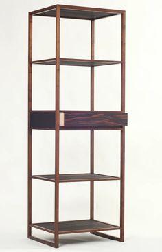 Steel Furniture, Cabinet Furniture, Furniture Design, Design Stand, Design Design, Bookshelves, Bookcase, Booth, Traditional Furniture