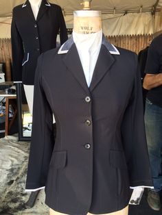 Charles Ancona show jackets can also be custom made