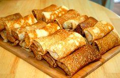Блины с жульеном – это блюдо с курицей, грибами, сливками и сыром
