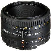 50mm f/1.8D Autofocus Lens $120