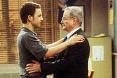 William Daniels: 'Boy Meets World'    Memorable Lines:  George Feeny: Believe in yourselves. Dream. Try. Do good. Topanga: I will never forget you [Mr. Feeny]. You were more of a father to me than my own dad. Shawn: You never gave up on me. Never once. I'm not going to forget you. You're the best person I know. Eric: I don't know what's going to happen to me. But I do know that I'm going to be a good person who cares about people. And I blame you for that. Cory: You'll always be with us. As ...