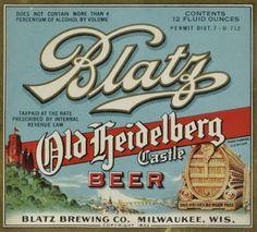 Export Pilsner Beer Label Springfield OH  Refrigerator Magnet