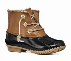 Chloe Classic Boot Fire Coral/Tan - Jack Rogers USA