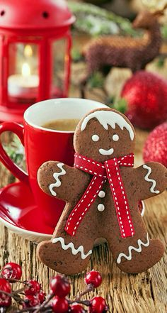 gallery for christmas gingerbread wallpaper