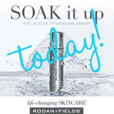 """I'm so excited ...our newest product...Active Hydration Serum becomes available to consultants TODAY! And I am officially starting my VIP Waitlist for anyone who wants to order it first so let me know! It creates a reservoir on the surface of your skin that will keep it hydrated the entire day. It can be used with ALL Regimens and improves their results. My friends already using it keep talking about how much it makes them """"glow."""" It will amplify hydration and act as a booster"""