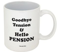 Funny Guy Mugs Goodbye Tension