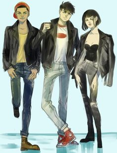 Greasers [DP] by MiroirTwin on DeviantArt
