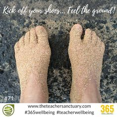 #71/365 #365wellbeing #TopTips #TakeTheOxygenFirst #TeacherWellbeing #TheTeacherSanctuary #EveryTeacherMatters #KathrynLovewell  #Pause #TakeAMoment #Present #PresentMomentAwareness #Awareness #PMA #Happiness #TouchTheEarth #grounding #kickyourshoesoff #withoutshoes  On May 10, Instagram your feet #withoutshoes or your TOMS and help give 100,000 new pairs of shoes to children in 10 countries.  Love this initiative  #OneforOne