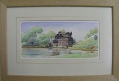 http://www.bramptonpictureframinggallery.co.uk/page/artists  Watercolour of Houghton Mill by Fred Betteridge. Framed by Brampton Framing. Available to view in our gallery. £45  65 High Street Brampton Huntingdon Cambridgeshire England PE28 4TQ