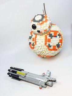 Lego bb8 #bb-8 #spherobb8 #bb8 #starwars #friki