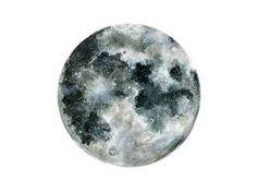 Bildergebnis für full moon tattoo