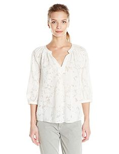 Rebecca Taylor Women's Ls Vic Clip Top, Snow, 4- #fashion #Apparel find more at lowpricebooks.co - #fashion