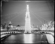 coney island luna park, the electric tower, 1905
