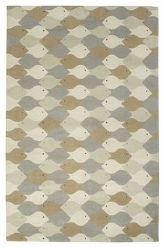 Fish by Eva Zeisel | Wool Contemporary hand-knotted designer rugs