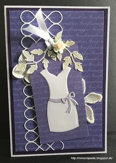 Min scrapside: Konfirmationskort til piger Big Shot, Communion, Quilling, Card Ideas, Projects To Try, Scrapbooking, Woman, Girls, Handmade