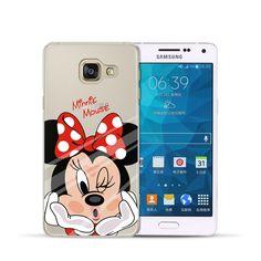 Minnie Mickey Duck Phone Back Case Cover For Samsung Galaxy 2016 2015 Grand Prime Mini Edge Coque Samsung Galaxy J3, Iphone Cases Disney, Iphone 7, Capas Samsung, S5 Mini, Galaxy S4 Mini, Glitter Phone Cases, Mobile Covers, Galaxies