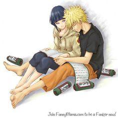 Naruto and Hinata! <3