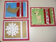 Christmas Cricut Cards