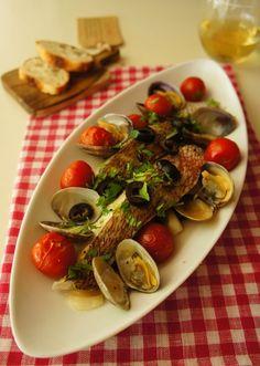 切り身で手軽に♪アクアパッツァ by 楠みどり   レシピサイト「Nadia   ナディア」プロの料理を無料で検索