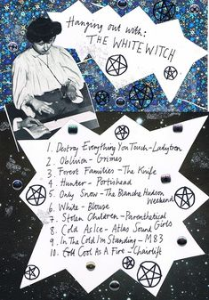 Friday Playlist: Hanging Out With the White Witch