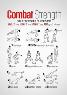 Combat Strength Workout | With Krav Maga, you'll get a great workout and learn how to defend yourself in virtually any situation. You'll also have a blast while doing it! madakravmaga.com 50272 Van Dy
