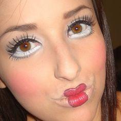 doll makeup | doll face makeup | crafty
