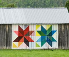 olive and ollie: modern barn quilt paint along inspiration