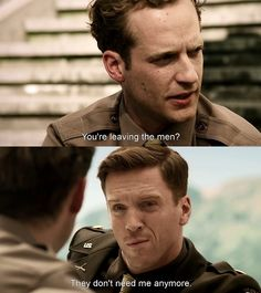 Points---gosh Damiam Lewis looks so gorgeous! Band Of Brothers Quotes, Brothers Movie, Winters Band Of Brothers, Company Of Heroes, Damian Lewis, We Happy Few, The Brethren, Film Stills, Funny Moments
