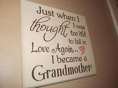 Grandma sign www.chellesrusticshop.com #grandma #grandmother #homedecor