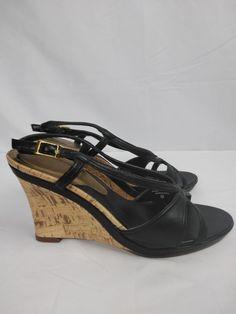 93b3853e5cb3 Women s BISOU-BISOU Michelle Bohbot open toe platform shoes size 7M   fashion  clothing  shoes  accessories  womensshoes  heels (ebay link)