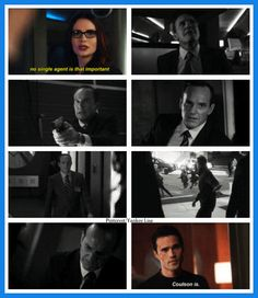 Agents of S.H.I.E.L.D. Honestly, Coulson is like me fav. character, he's such a good guy.