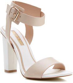 Miss Selfridge Chelsea block heel sandal on shopstyle.co.uk