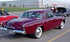 Rear Right Maroon 1953 Studebaker Commander Car Picture Car Photos, Car Pictures, Car Pics, Classic Trucks, Classic Cars, Hot Rods, Vintage Cars, Antique Cars, Automobile Companies