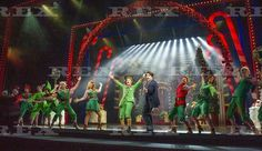 'Elf, The Musical' Performed at the Dominion Theatre, London, Britain - 02 Nov 2015  Kimberely Walsh as Jovie, Ben Forster as Buddy, Graham Lappin as the Store Manager 2 Nov 2015