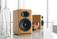 Passive Speakers allow you to enjoy award winning Audioengine sound with your existing integrated amplifier or stereo receiver. Powered Speakers, Bluetooth Speakers, Passive Speaker, Audiophile, Awards, Home Appliances, This Or That Questions, Design, Big