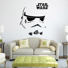 Cheap room diy, Buy Quality decoration kids room directly from China wall sticker anime Suppliers: Brand 2017 Star war wall stickers anime poster anime removable waterproof wall sticker Decal room decoration Kids Rooms DIY Star Wars Decor, Star Wars Room, Star Wars Art, Black Wall Stickers, Les Stickers, Vinyl Wall Stickers, Anime Stickers, Wall Decals, Home Decor Wall Art
