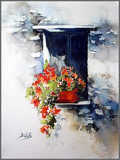 Bev Wells   WATERCOLOR
