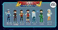 Boboiboy Galaxy by Xierally on DeviantArt Anime Galaxy, Boboiboy Galaxy, Boboiboy Anime, Anime Art, Drawing Fist, Elemental Powers, Cartoon Movies, My Daddy, Teamwork